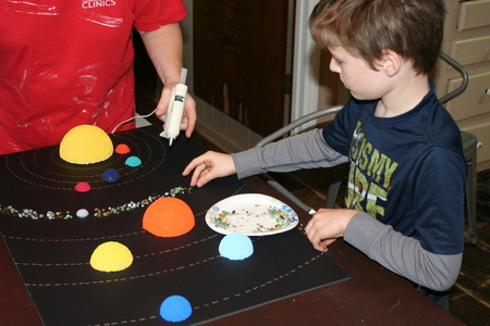 solar system with asteroid belt projects - photo #10