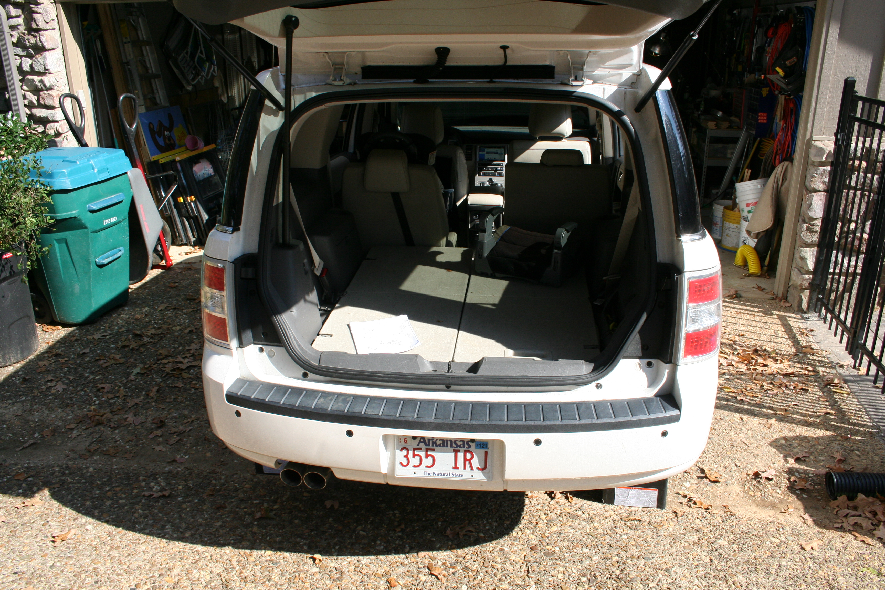 Ford Flex Factory Hitch Project Unknown Dog 2011 Dodge Durango Trailer Wiring Diagram Remove The Taillights